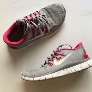 Grey Nike FREE &FLEXIBLE Running Shoes 7.5